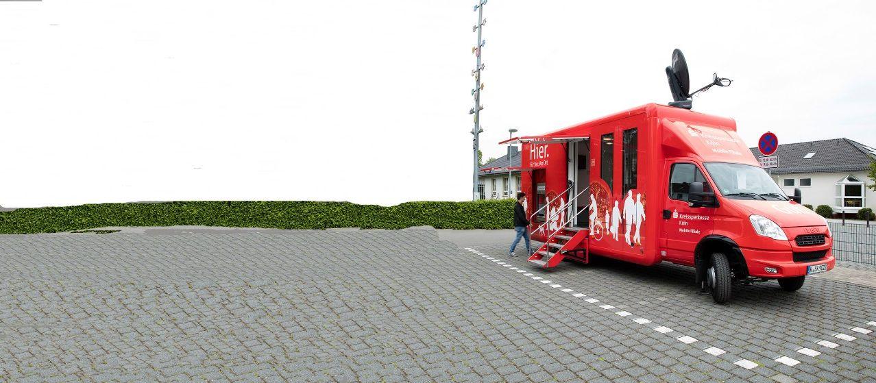 Mobile Filiale Fahrzeug
