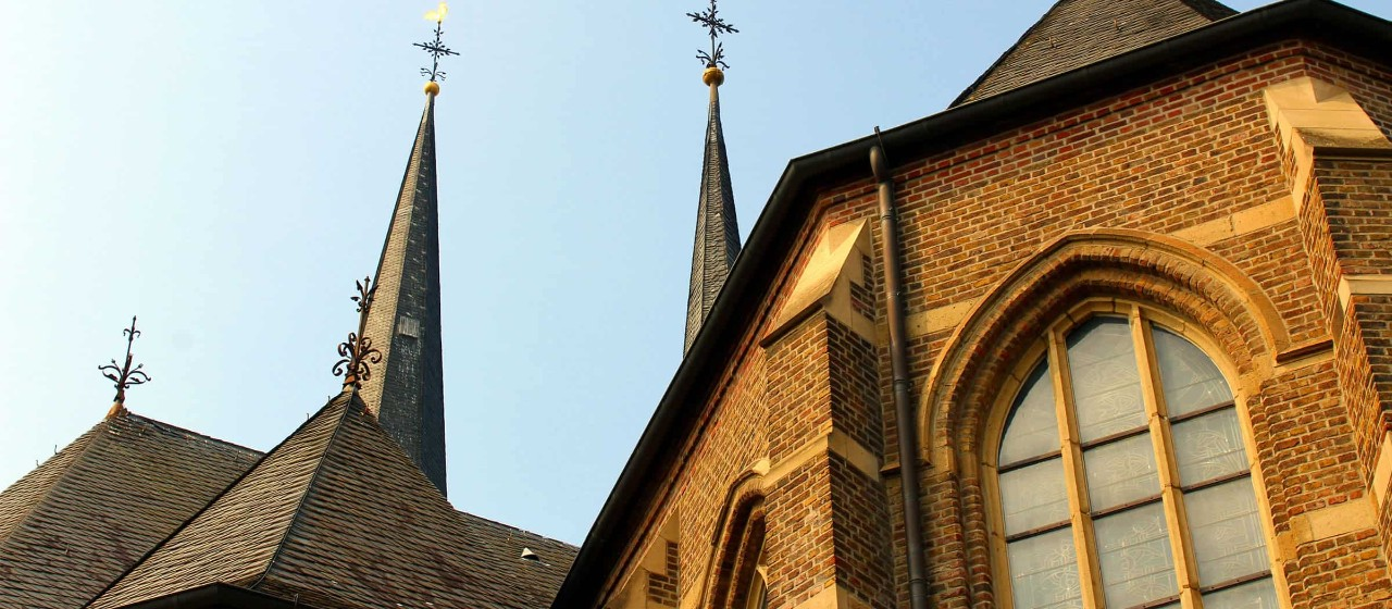 Kirchtürme von Sankt Lambertus in Bedburg