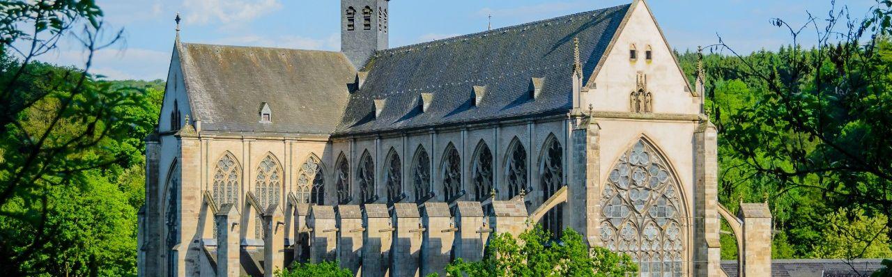 Außenansicht des Altenberger Doms